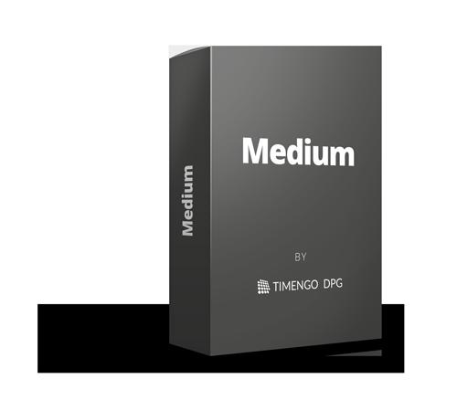 Vælg SikkerPost Medium med 15 brugere inkluderet