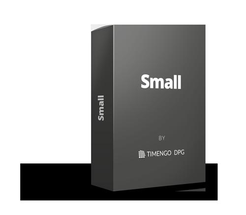 Vælg SikkerPost Small med 5 brugere inkluderet